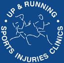 Sports Therapy by Up & Running logo